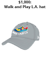 2019 Walk and Play L.A. $1000 incentive