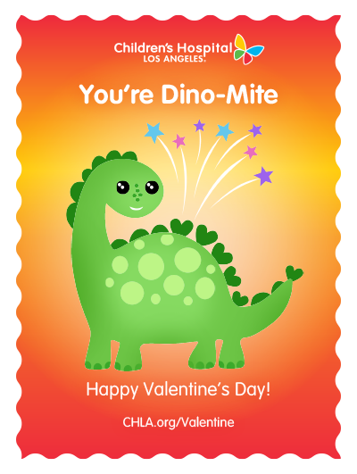 I think you're DINO-Mite