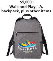 2019 Walk and Play L.A. $5000 incentive