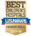 Best Childrens Hospital 2016-17